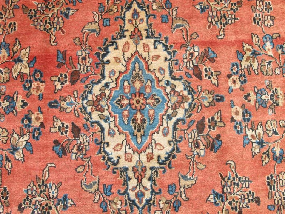 Highly Detailed Hand Woven Semi Antique Persian Lilian - 3