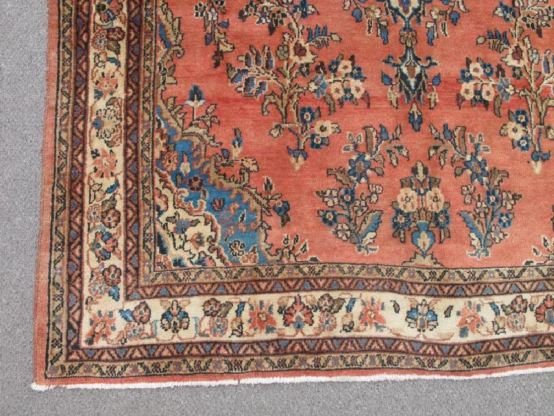 Highly Detailed Hand Woven Semi Antique Persian Lilian - 4
