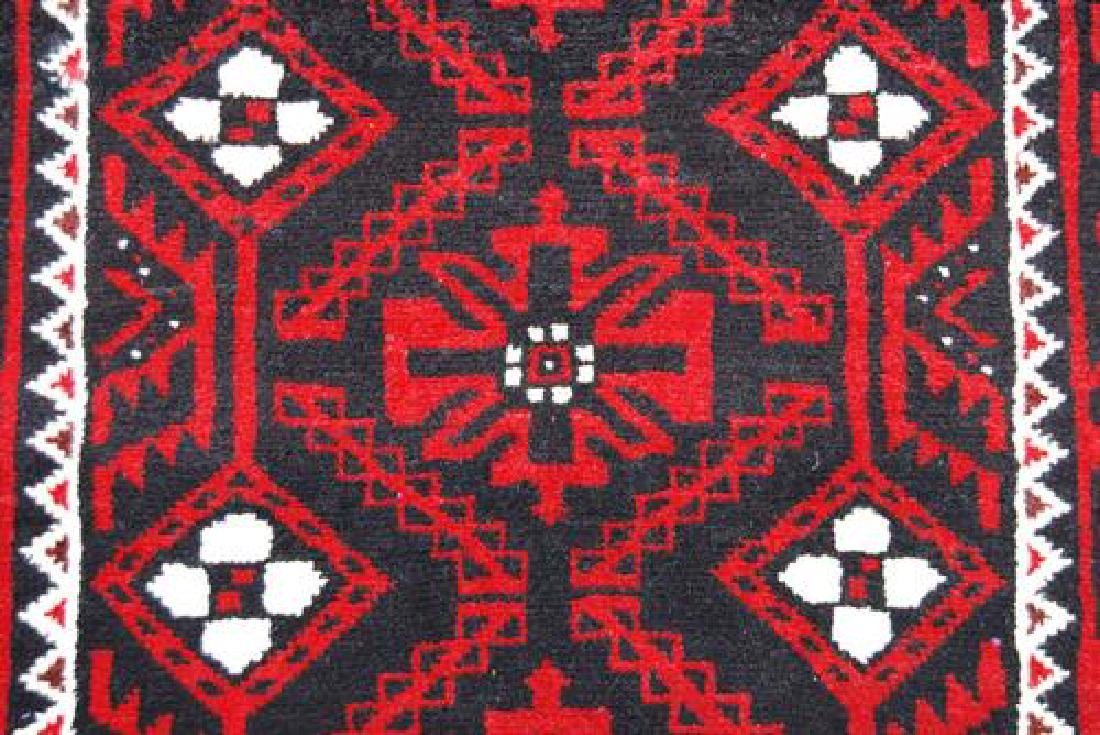 AUTHENTIC HAND WOVEN PERSIAN BALOOCH RUG - 3