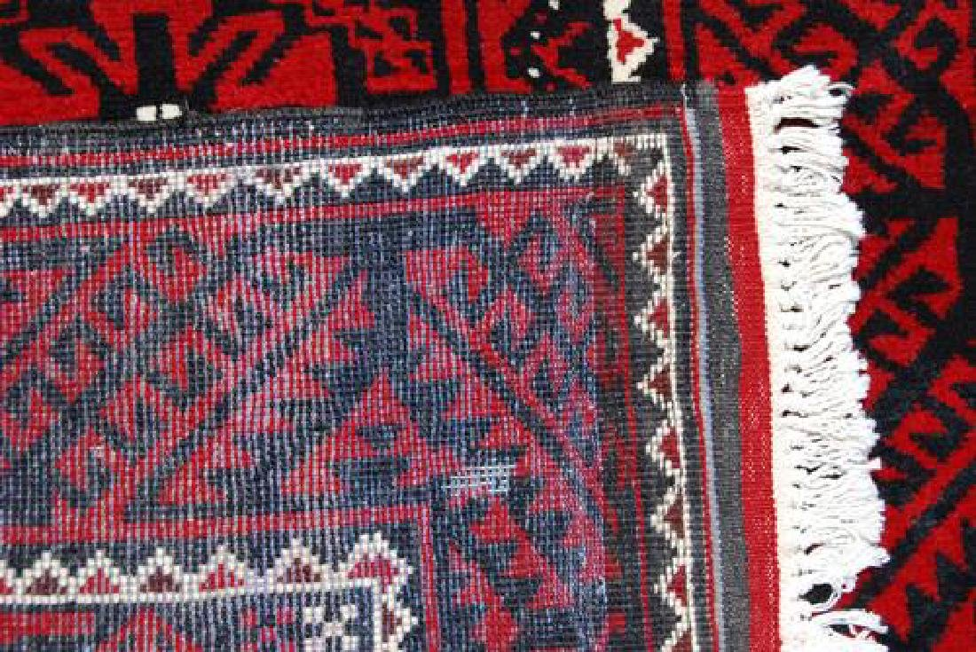 AUTHENTIC HAND WOVEN PERSIAN BALOOCH RUG - 4