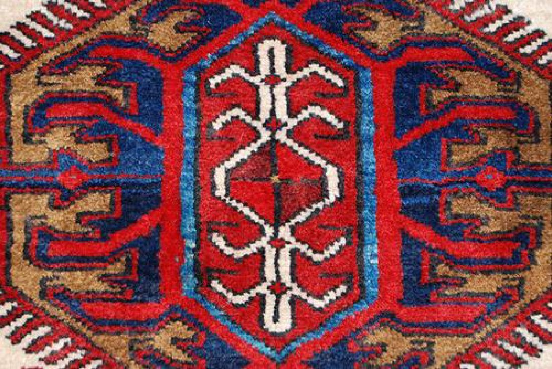 BEAUTIFUL FINE QUALITY SEMI ANTIQUE HAND WOVEN PERSIAN - 4
