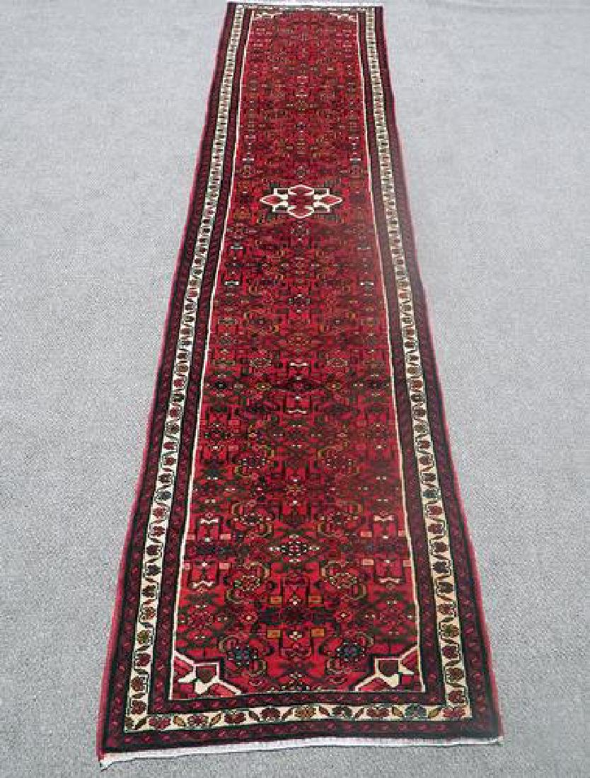Persian Hand Woven Hosseinabad Runner - 2