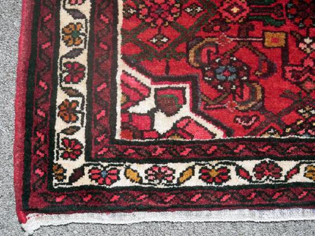 Persian Hand Woven Hosseinabad Runner - 3