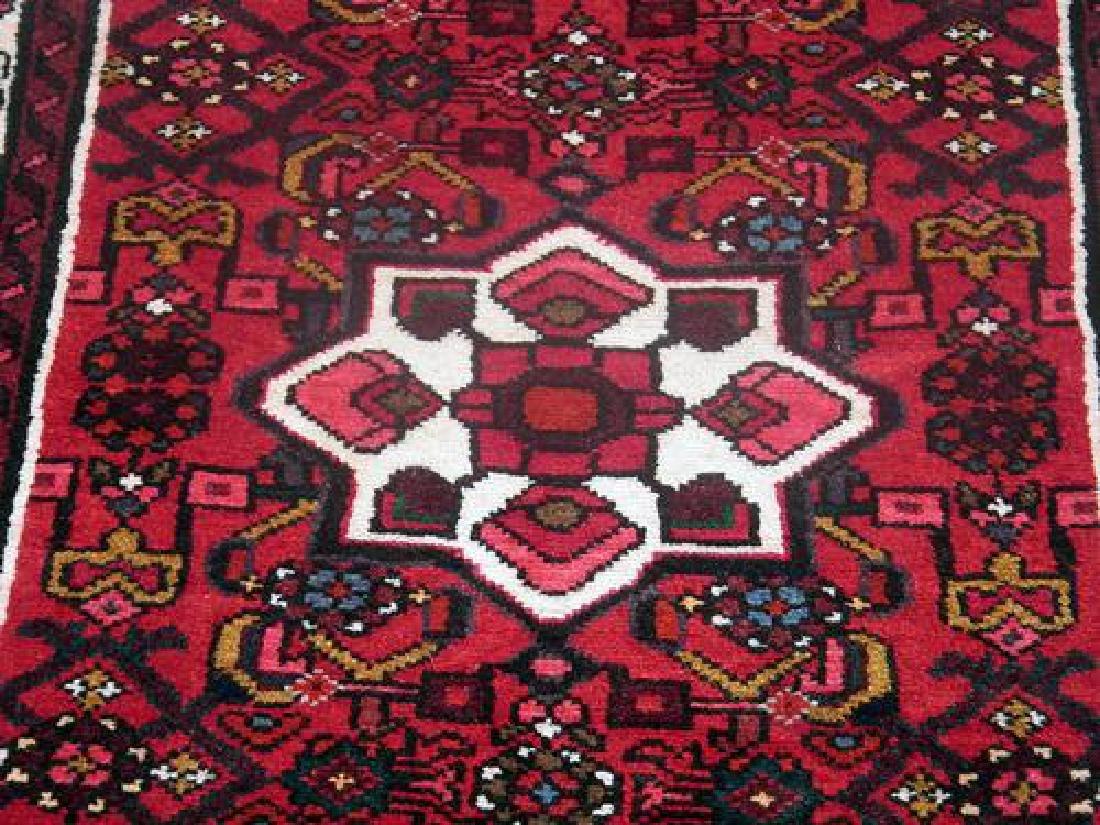 Persian Hand Woven Hosseinabad Runner - 4