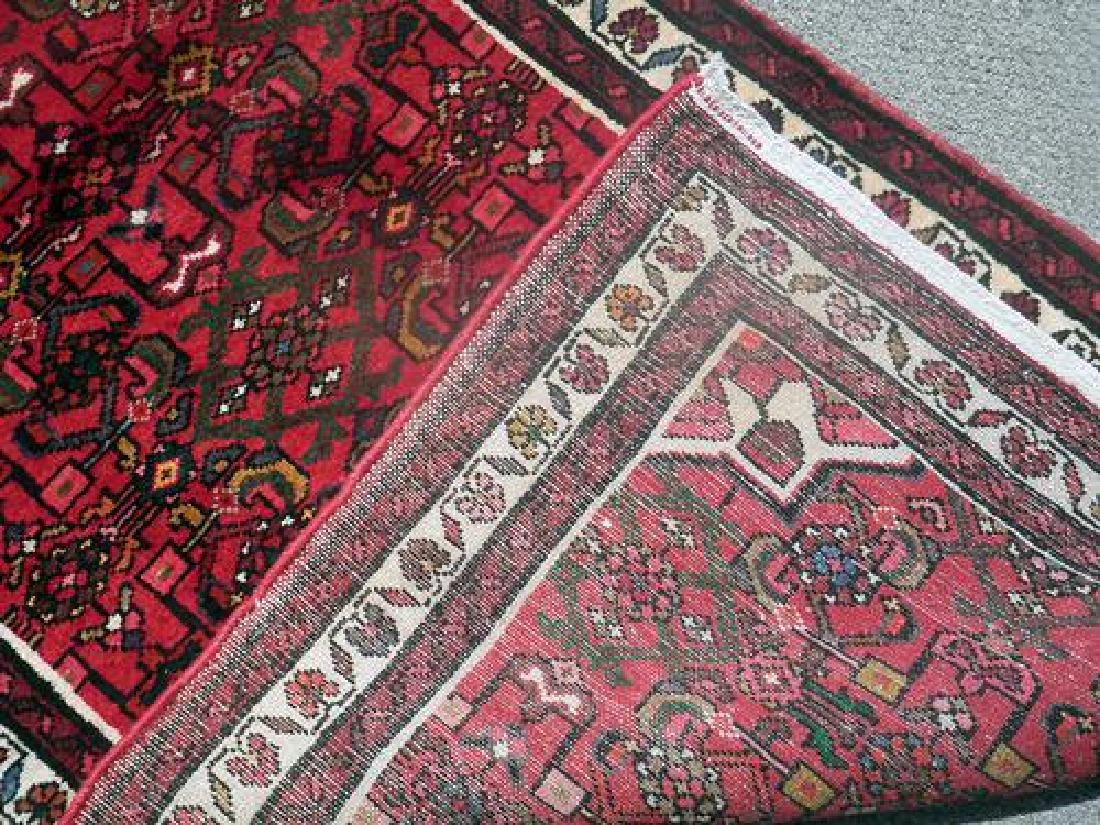 Persian Hand Woven Hosseinabad Runner - 5