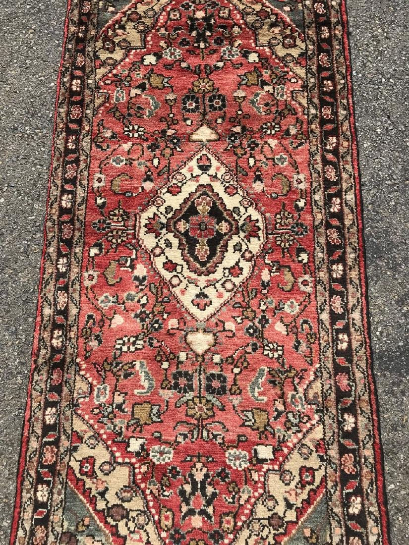 Fascinating Malayer Runner With three Medallion Design - 3