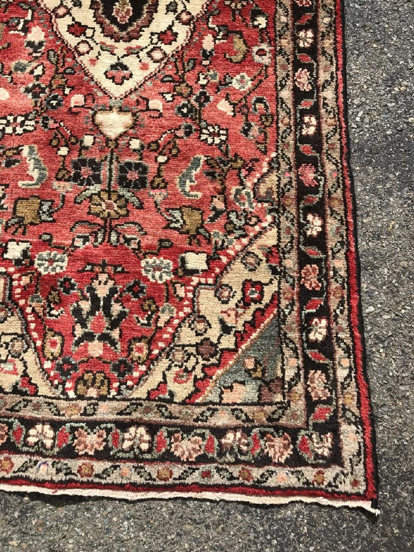 Fascinating Malayer Runner With three Medallion Design - 4