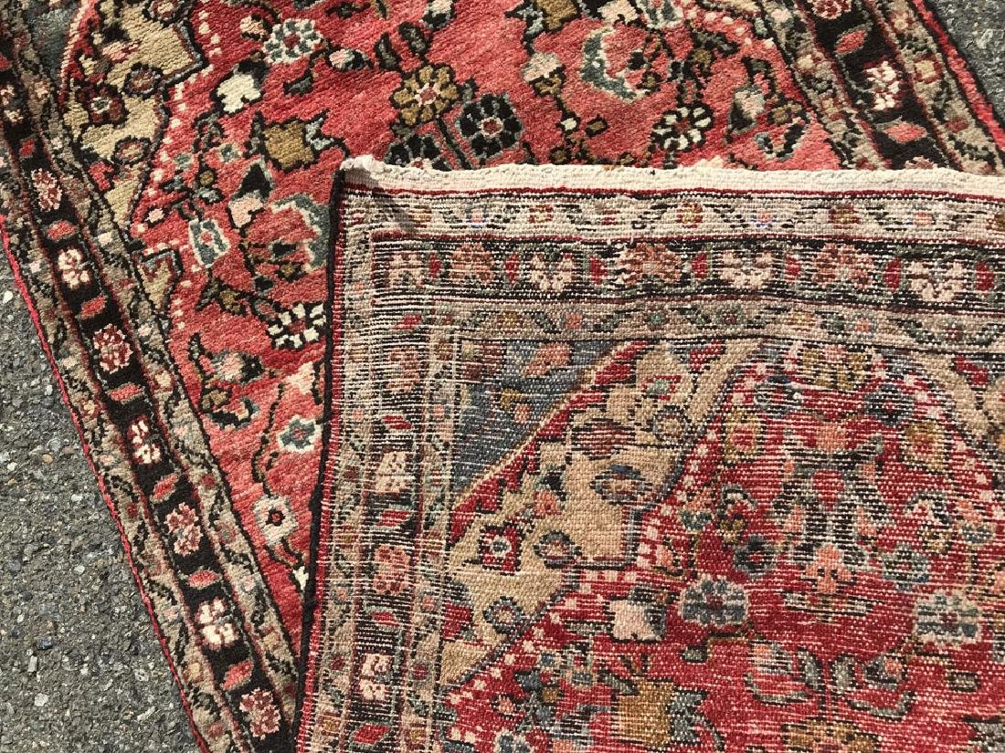 Fascinating Malayer Runner With three Medallion Design - 5