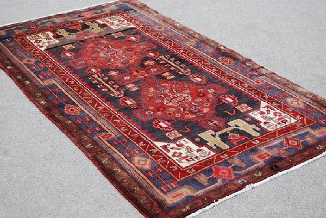 Splendid Semi Antique Handmade Persian Kermanshah