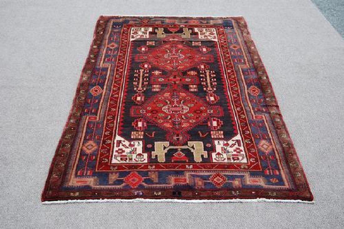 Splendid Semi Antique Handmade Persian Kermanshah - 2