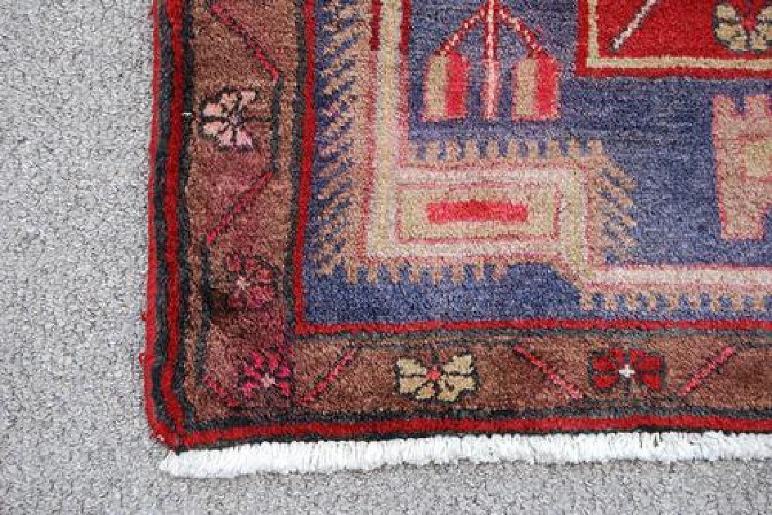 Splendid Semi Antique Handmade Persian Kermanshah - 3