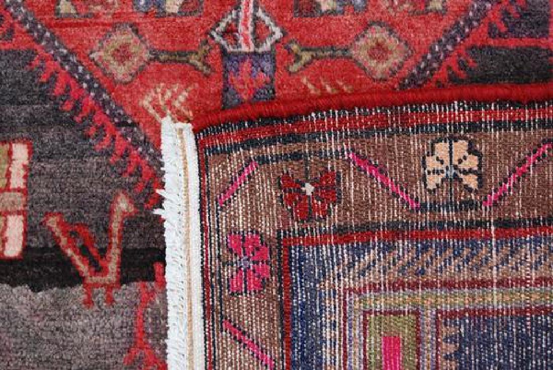 Splendid Semi Antique Handmade Persian Kermanshah - 5