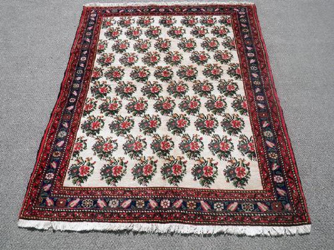 Elegant Finest Quality Persian Shawl 4.5 x 6.2 - 2