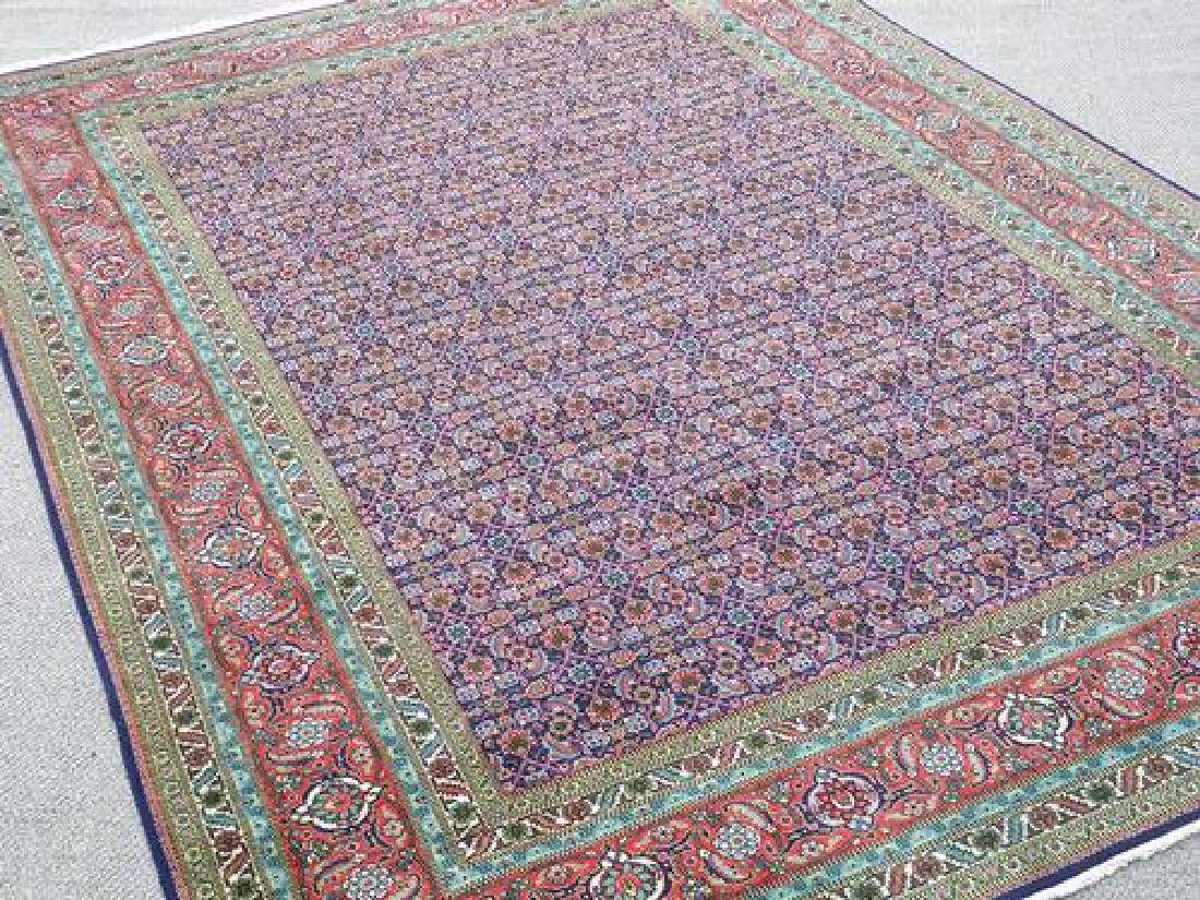 Collectible and unique Hand woven Persian Tabriz Rug - 2