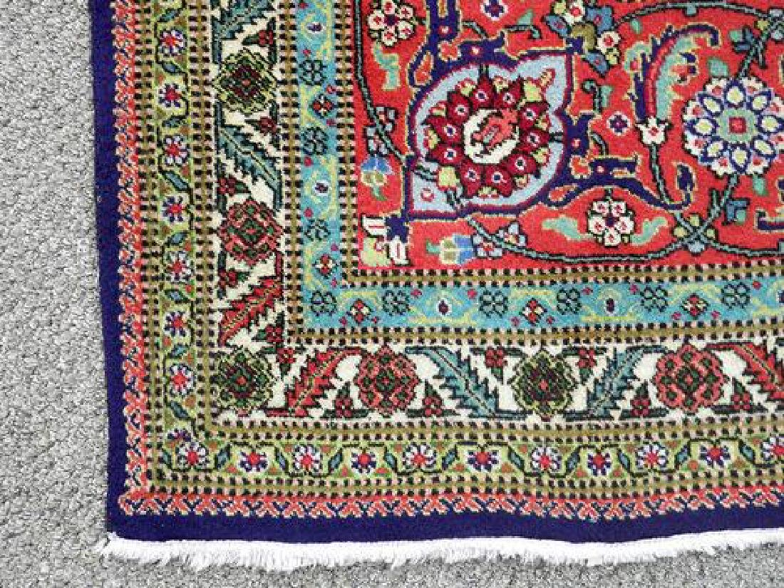 Collectible and unique Hand woven Persian Tabriz Rug - 3