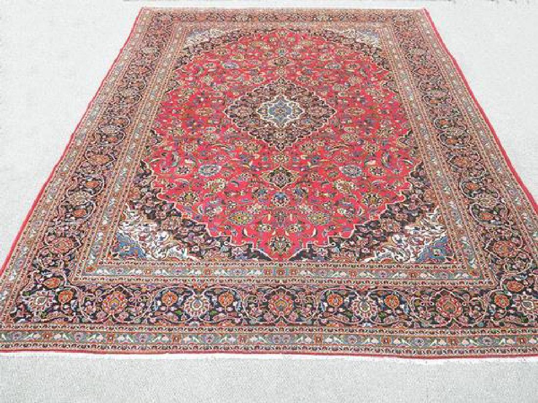 Lovely All Natural Hand woven Persian Kashan Rug
