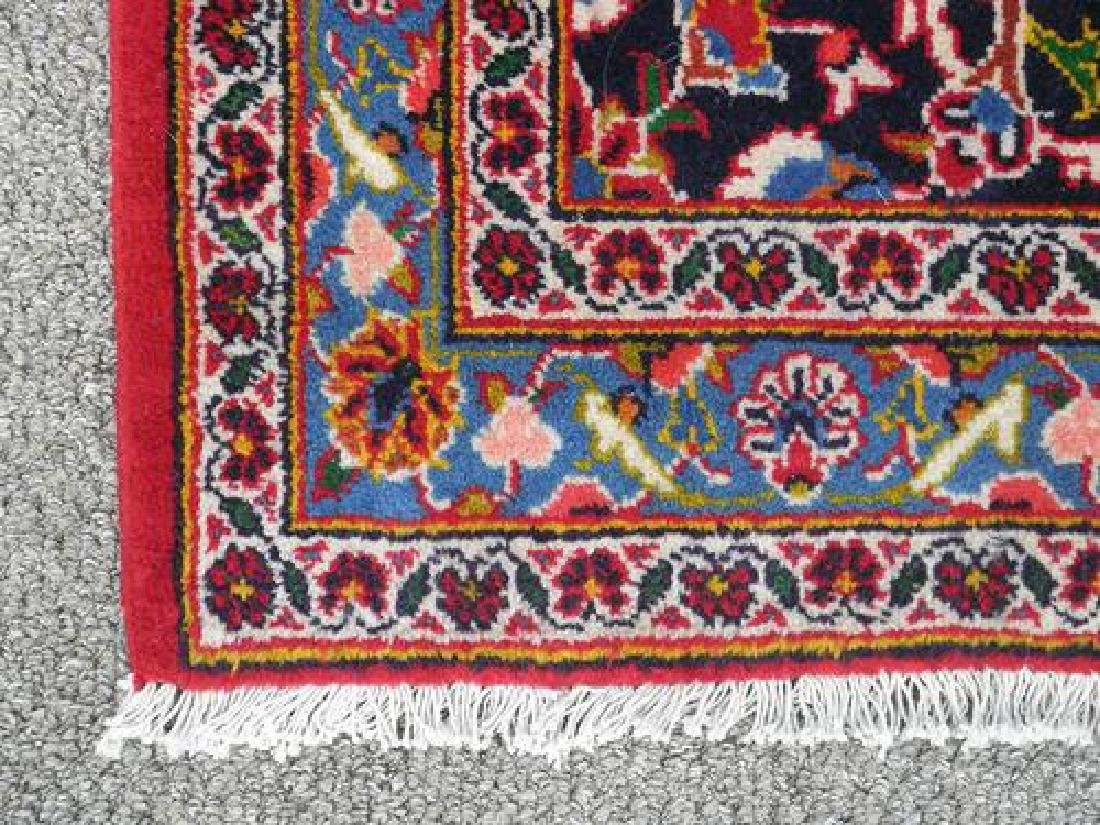Lovely All Natural Hand woven Persian Kashan Rug - 3