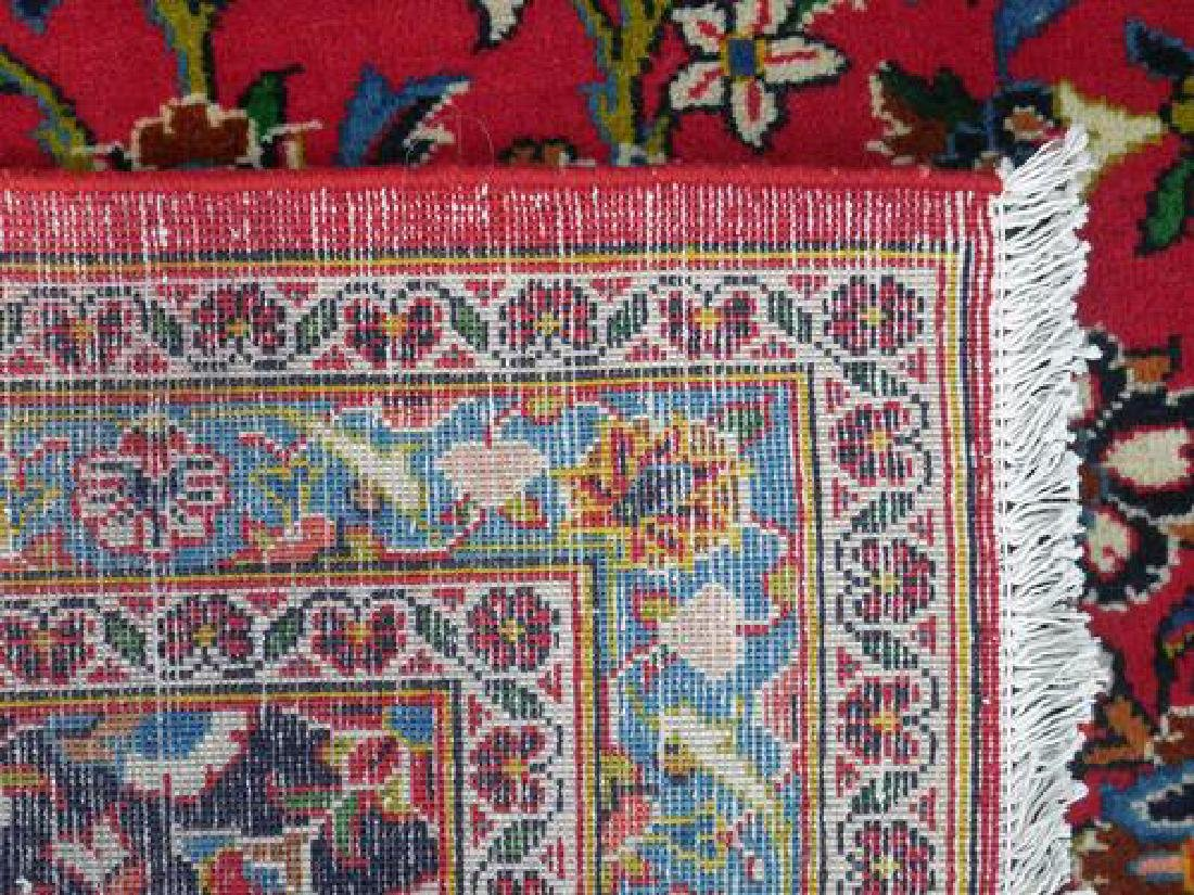 Lovely All Natural Hand woven Persian Kashan Rug - 4