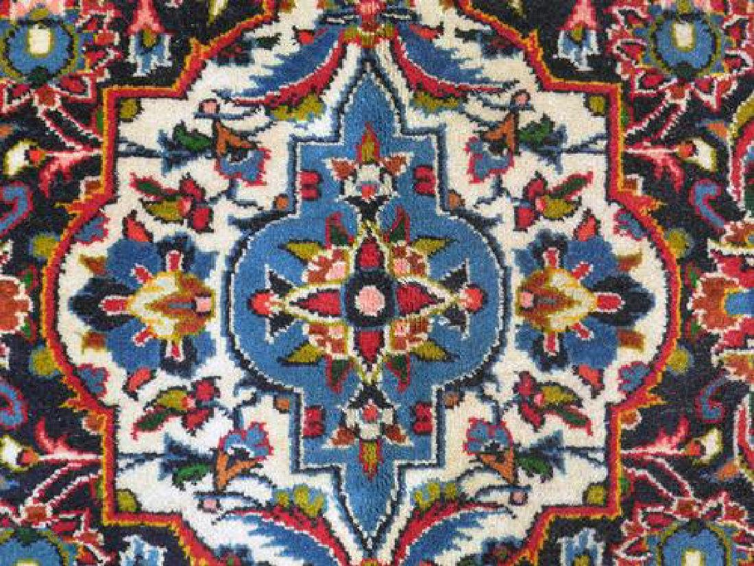 Lovely All Natural Hand woven Persian Kashan Rug - 5