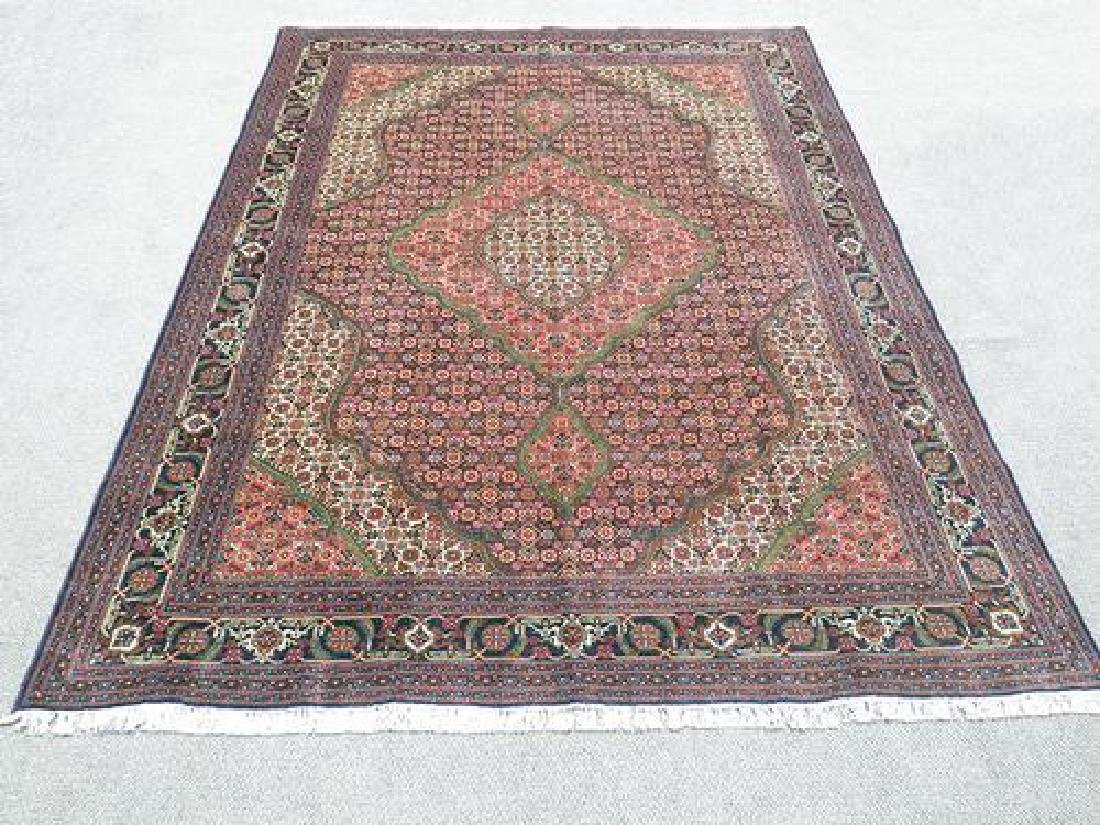 Exquisite Highly Detailed Handmade Persian Tabriz Rug
