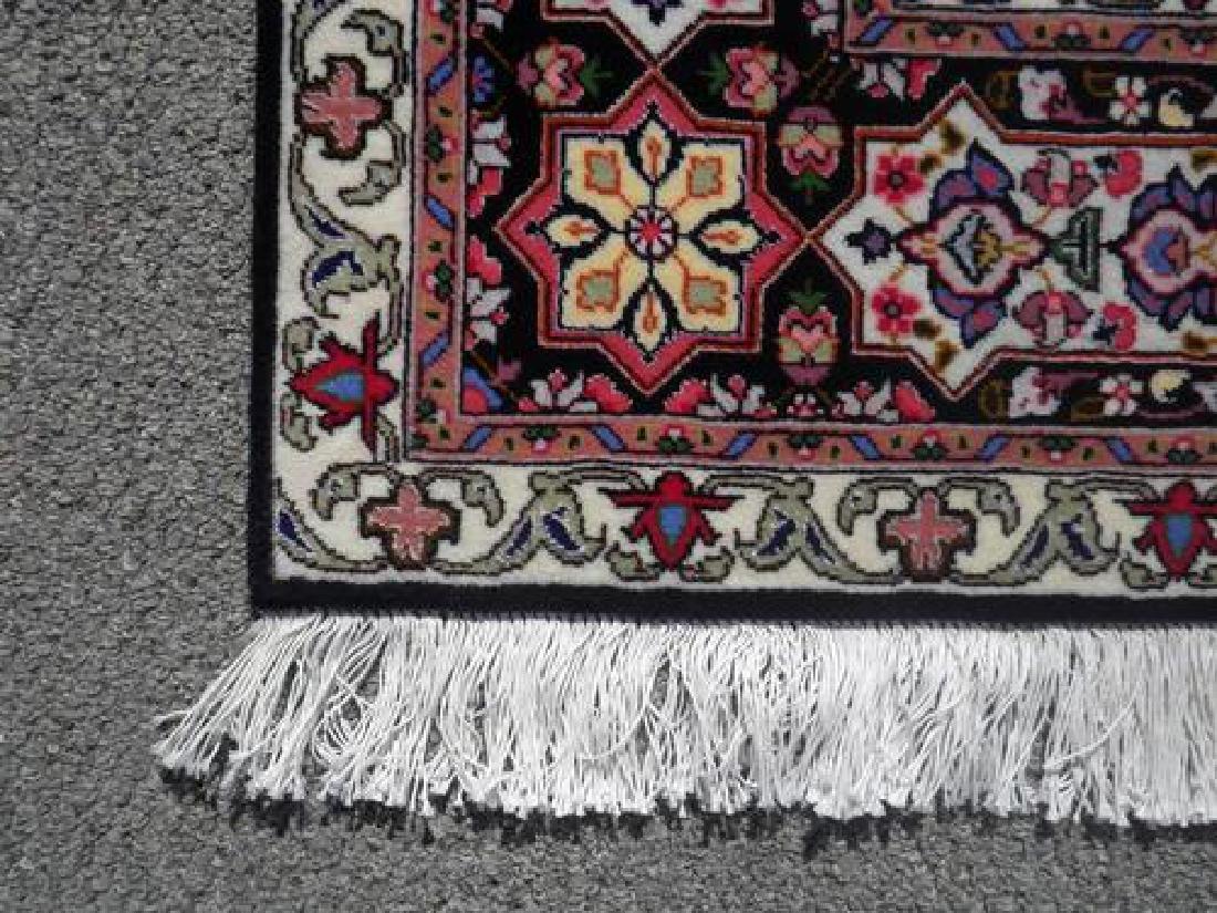 Lustrous Fine Quality Persian Tabriz 5.1x7 - 3