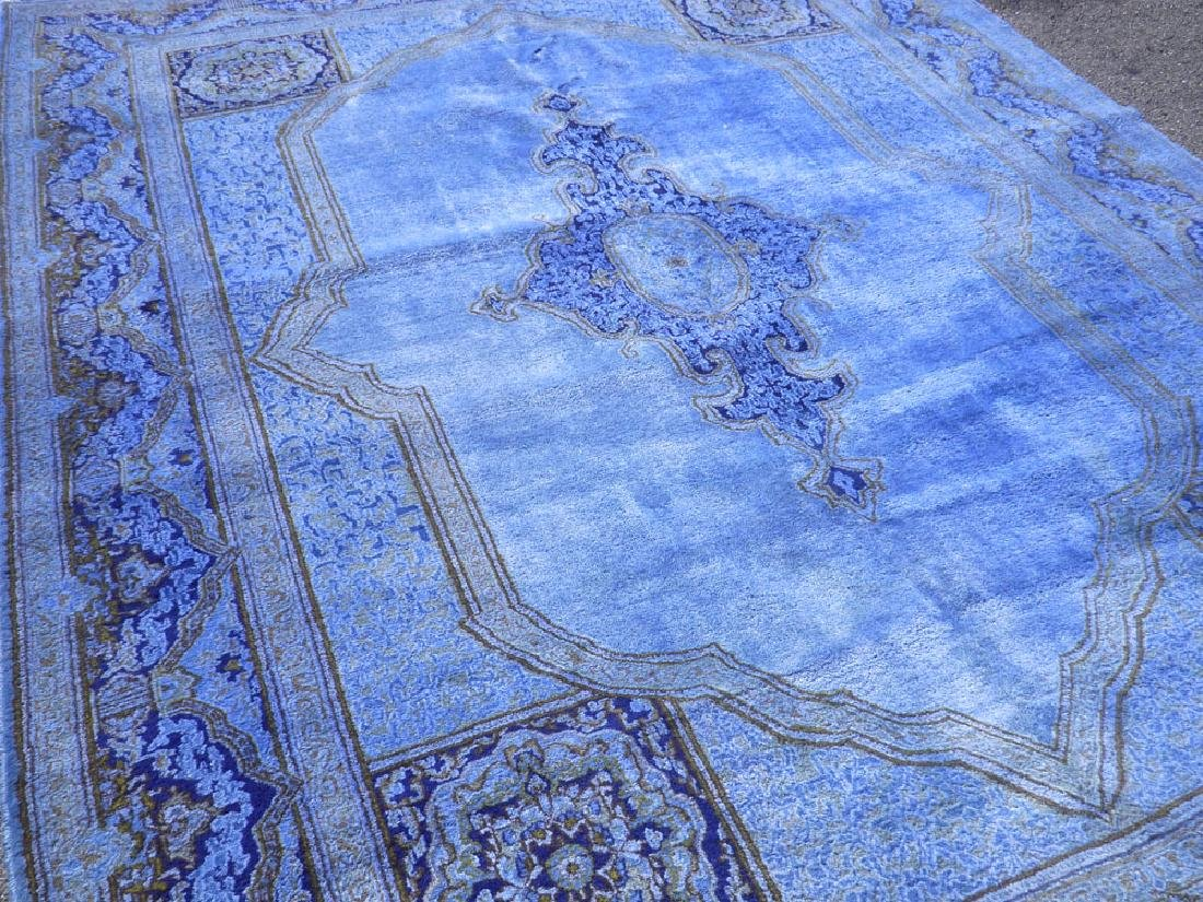 Quite Fascinating Semi Antique Open Field Persian - 2