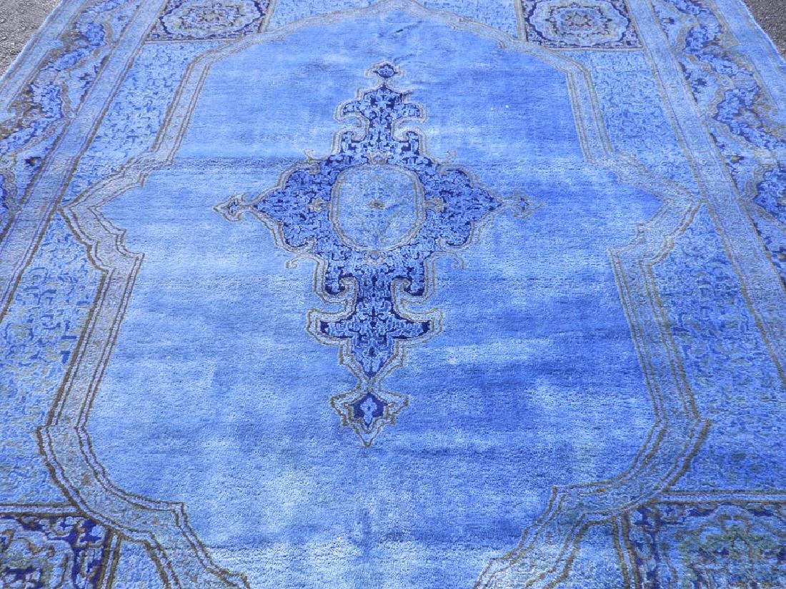Quite Fascinating Semi Antique Open Field Persian - 3