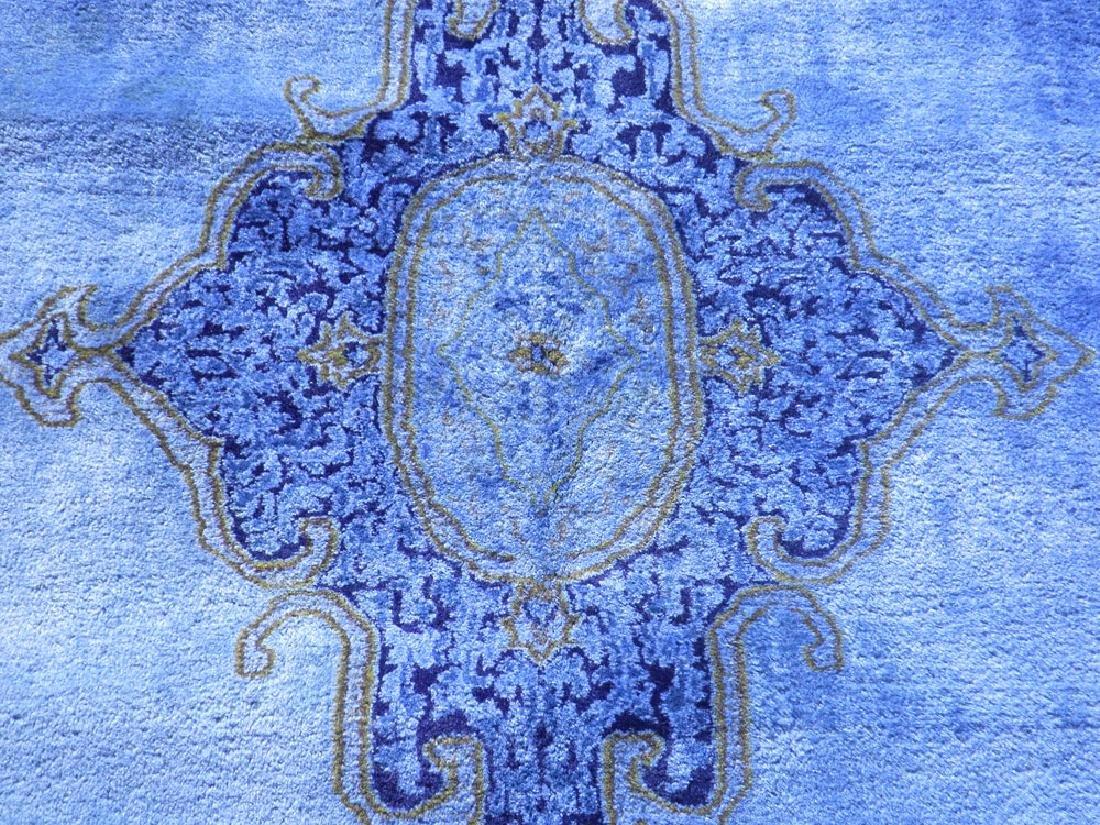 Quite Fascinating Semi Antique Open Field Persian - 4