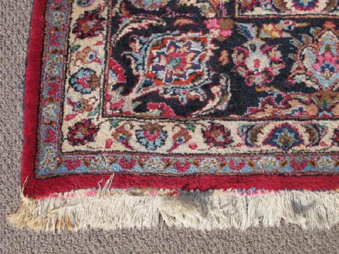 Absolutely Mesmerizing Semi Antique Persian Mashhad Rug - 3