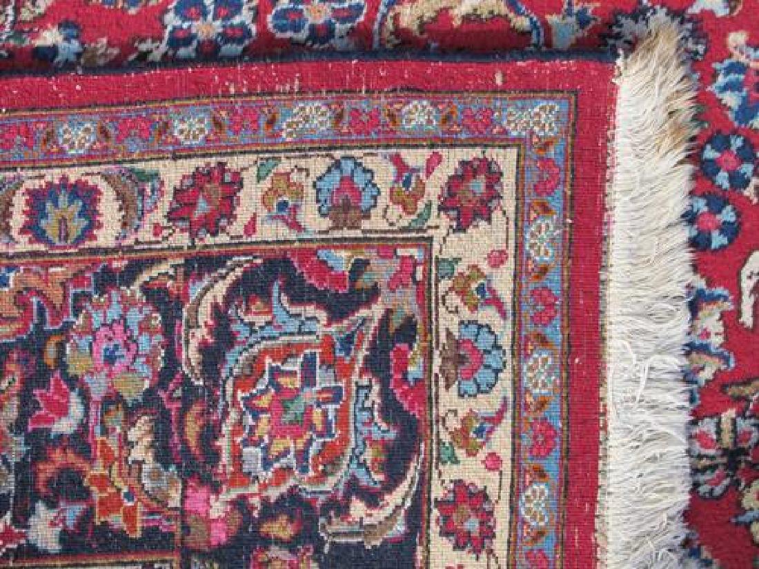 Absolutely Mesmerizing Semi Antique Persian Mashhad Rug - 4