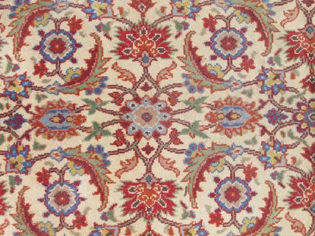 Gorgeous Semi Antique All Over Turkish Kaysari 6.7x10 - 4