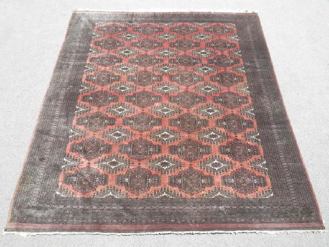 Marvelous Handmade Semi Antique Bokhara 7.5x9.2