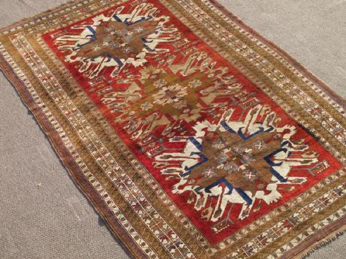 Special Caucasian Semi Antique Kazak Rug 9.2X6.0 - 2