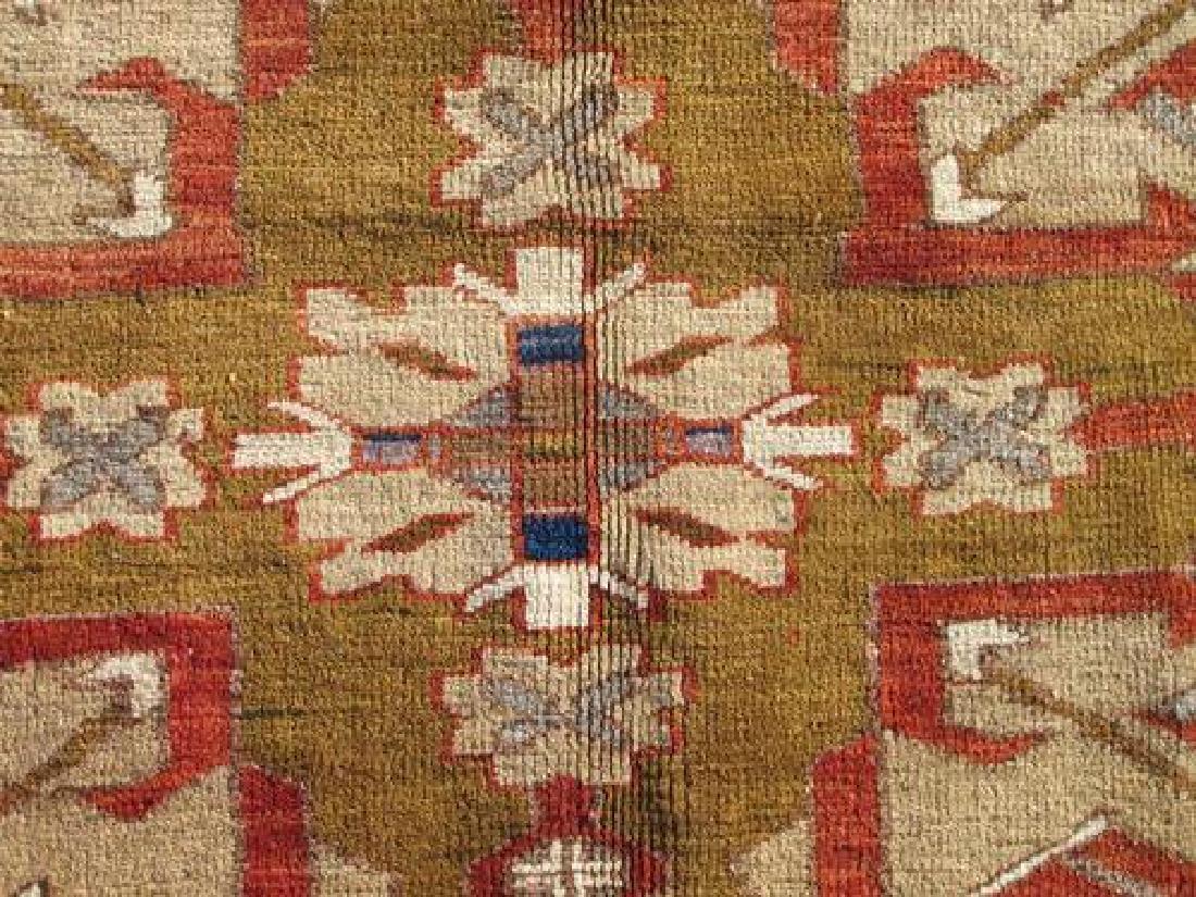 Special Caucasian Semi Antique Kazak Rug 9.2X6.0 - 3