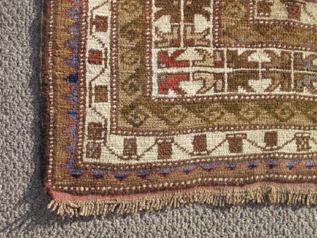 Special Caucasian Semi Antique Kazak Rug 9.2X6.0 - 4