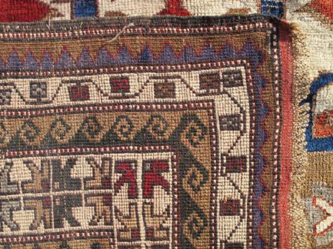 Special Caucasian Semi Antique Kazak Rug 9.2X6.0 - 5