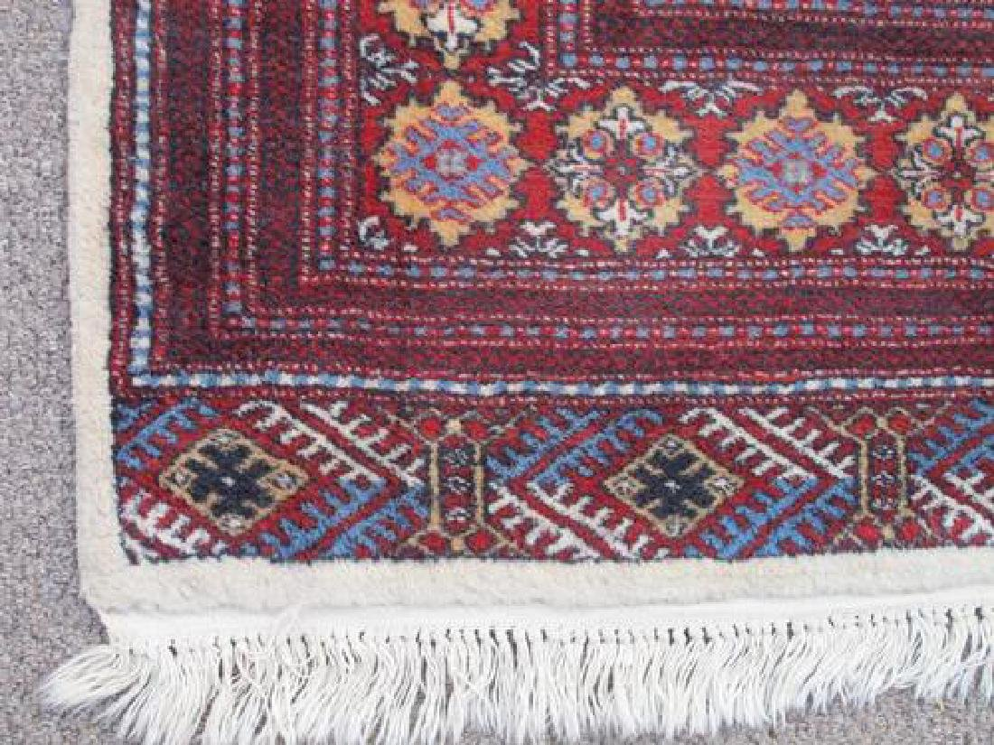 Intricate Knotted Vintage Yomut Turkman Tribal 10x6.7 - 3
