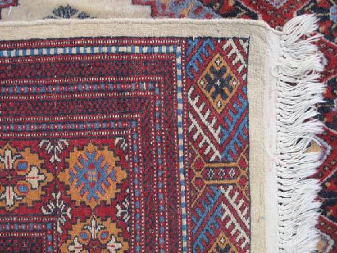 Intricate Knotted Vintage Yomut Turkman Tribal 10x6.7 - 5