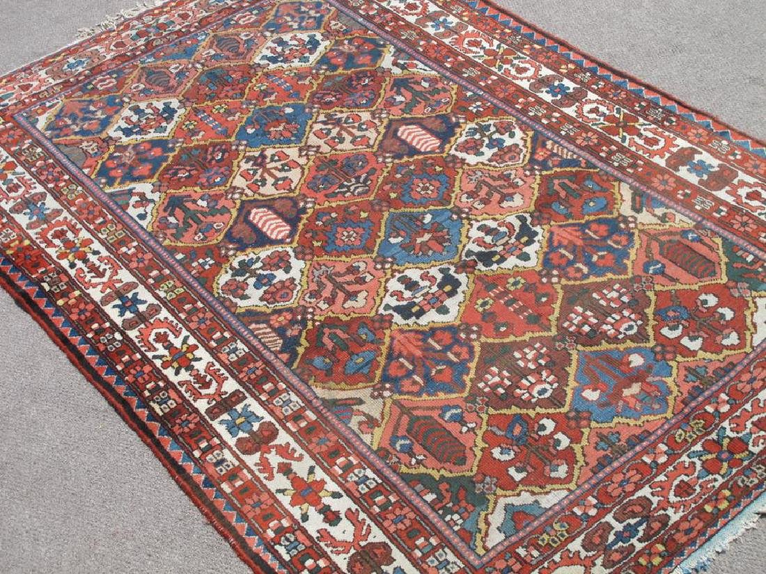 Finely Done Semi Antique Allover Persian Bakhtiari - 2
