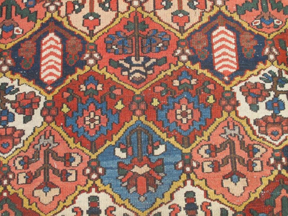 Finely Done Semi Antique Allover Persian Bakhtiari - 3