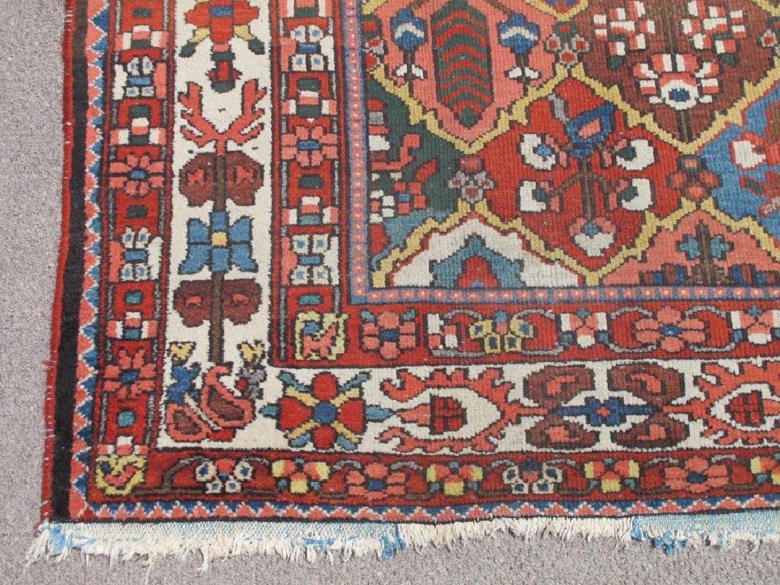 Finely Done Semi Antique Allover Persian Bakhtiari - 4