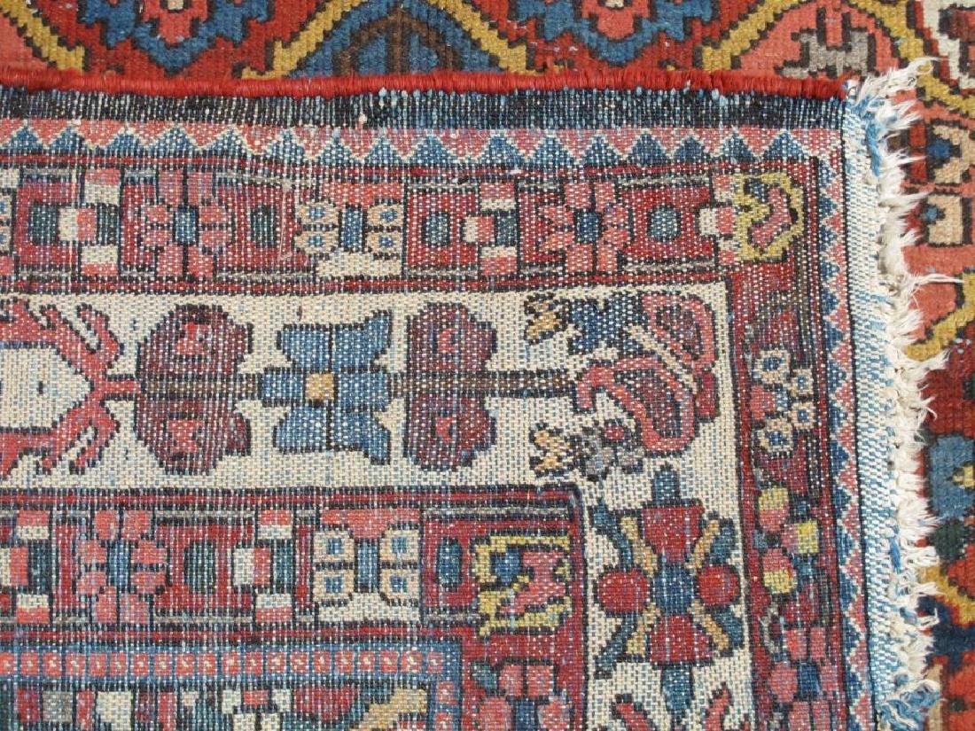 Finely Done Semi Antique Allover Persian Bakhtiari - 5