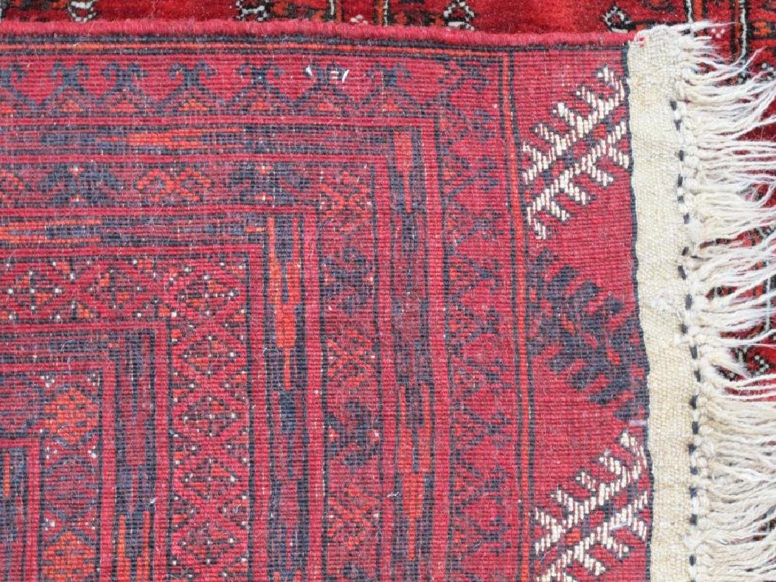 Hand Knotted Semi Antique Wool on Wool Persian Turkmen - 5