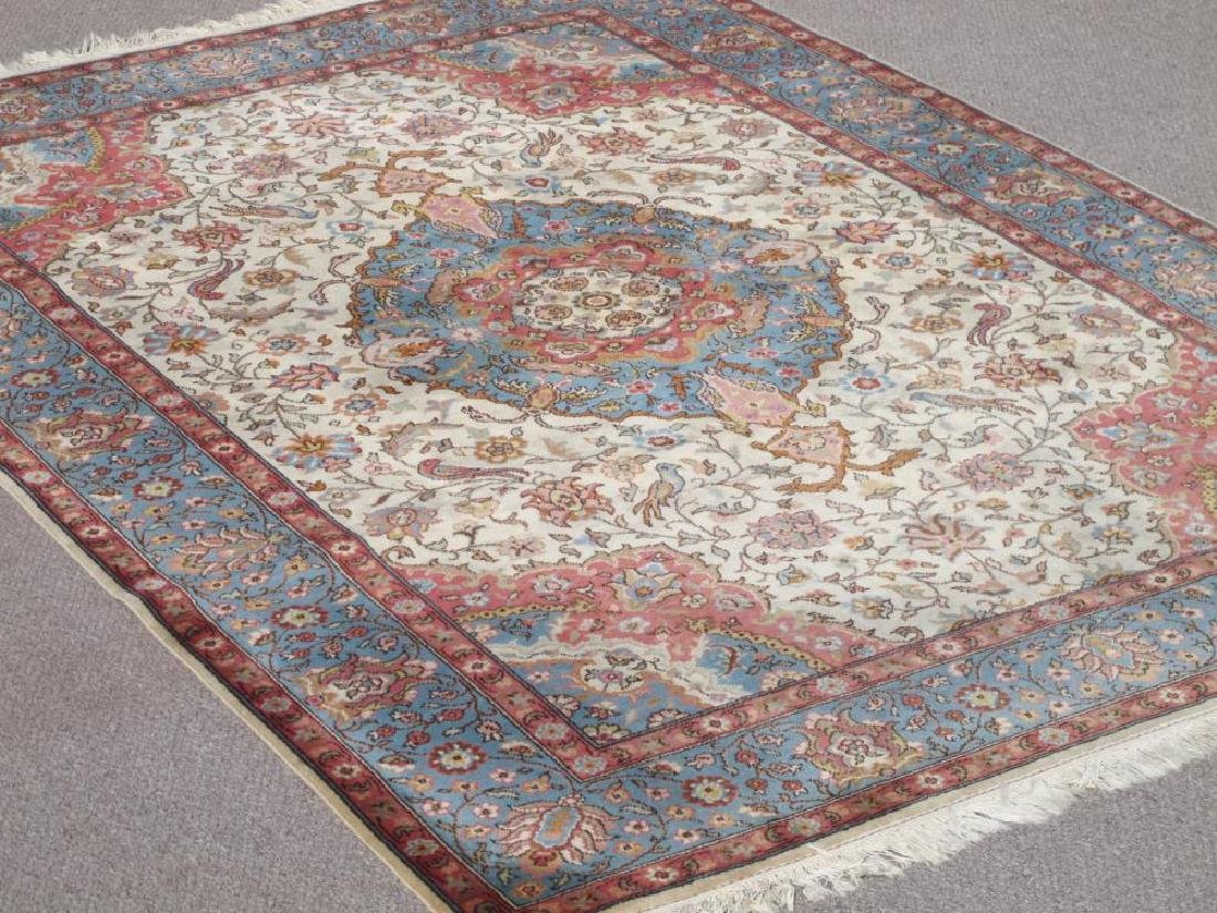 Very Beautiful Semi Antique Persian Tabriz 10x6.9 - 2