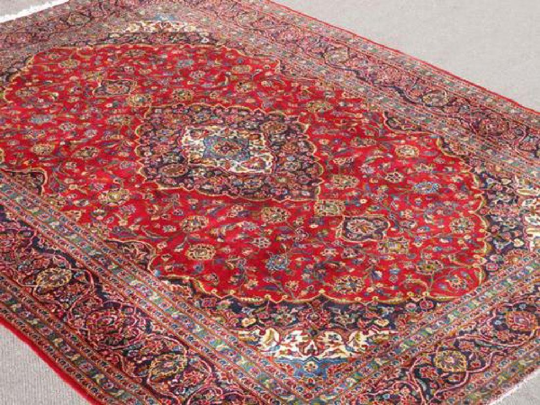 Extremely Gorgeous Semi Antique Persian Kashan Rug - 2