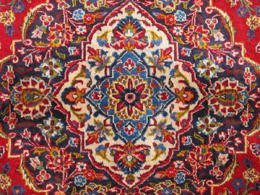 Extremely Gorgeous Semi Antique Persian Kashan Rug - 4