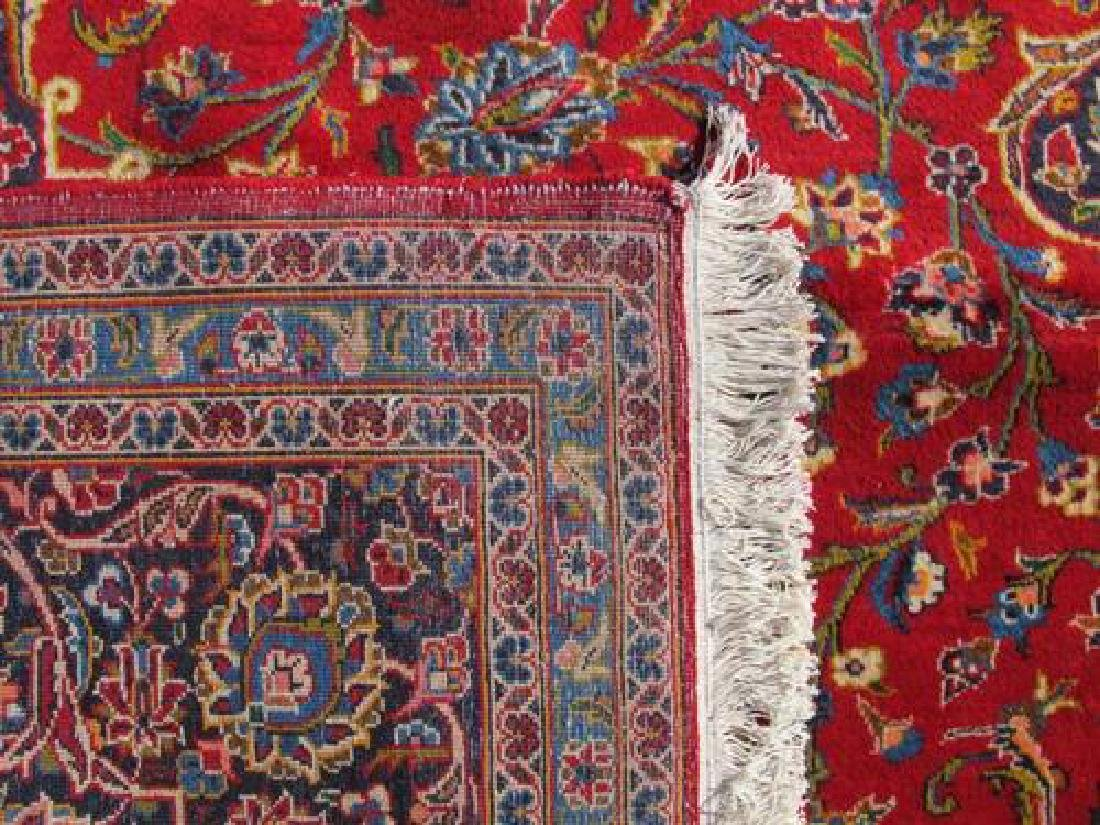 Extremely Gorgeous Semi Antique Persian Kashan Rug - 5