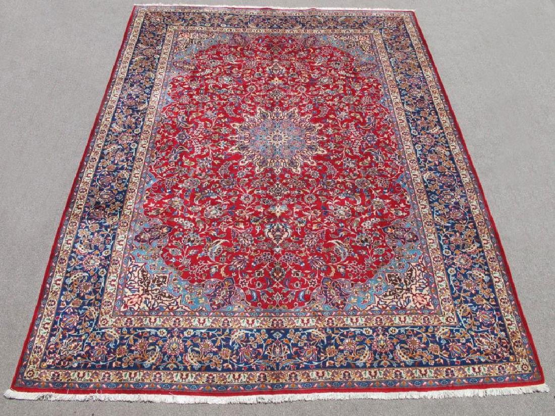 Absolutely Striking Authentic Persian Isfahan 10x13.4