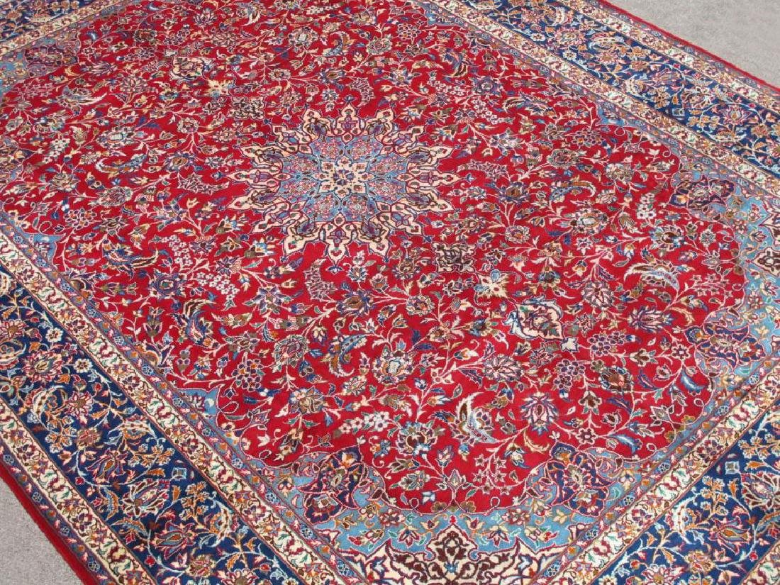 Absolutely Striking Authentic Persian Isfahan 10x13.4 - 2
