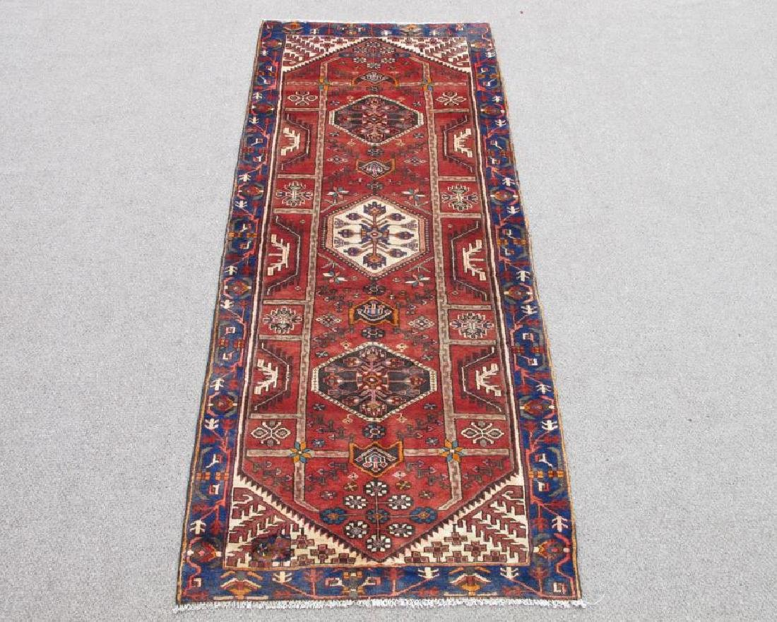 Beautiful Handmade Semi Antique Persian Bakhtiari Rug